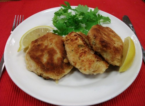 Homemade Fresh Fish Cakes
