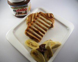 Nutella & Banana Toastie