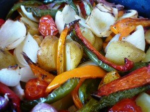 Roasted Vegetables using the Halogen Oven