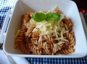 Tuna & Tomato Pasta Bake using the Halogen Oven